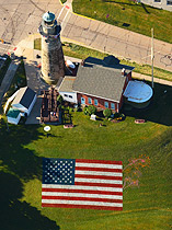 Aerial photo of Lighthouse Museum